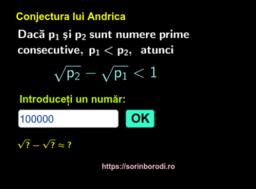 Conjectura lui Andrica
