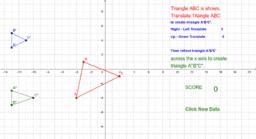 Translation & Reflection of a Triangle
