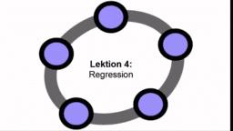 Lektion 4: Regression