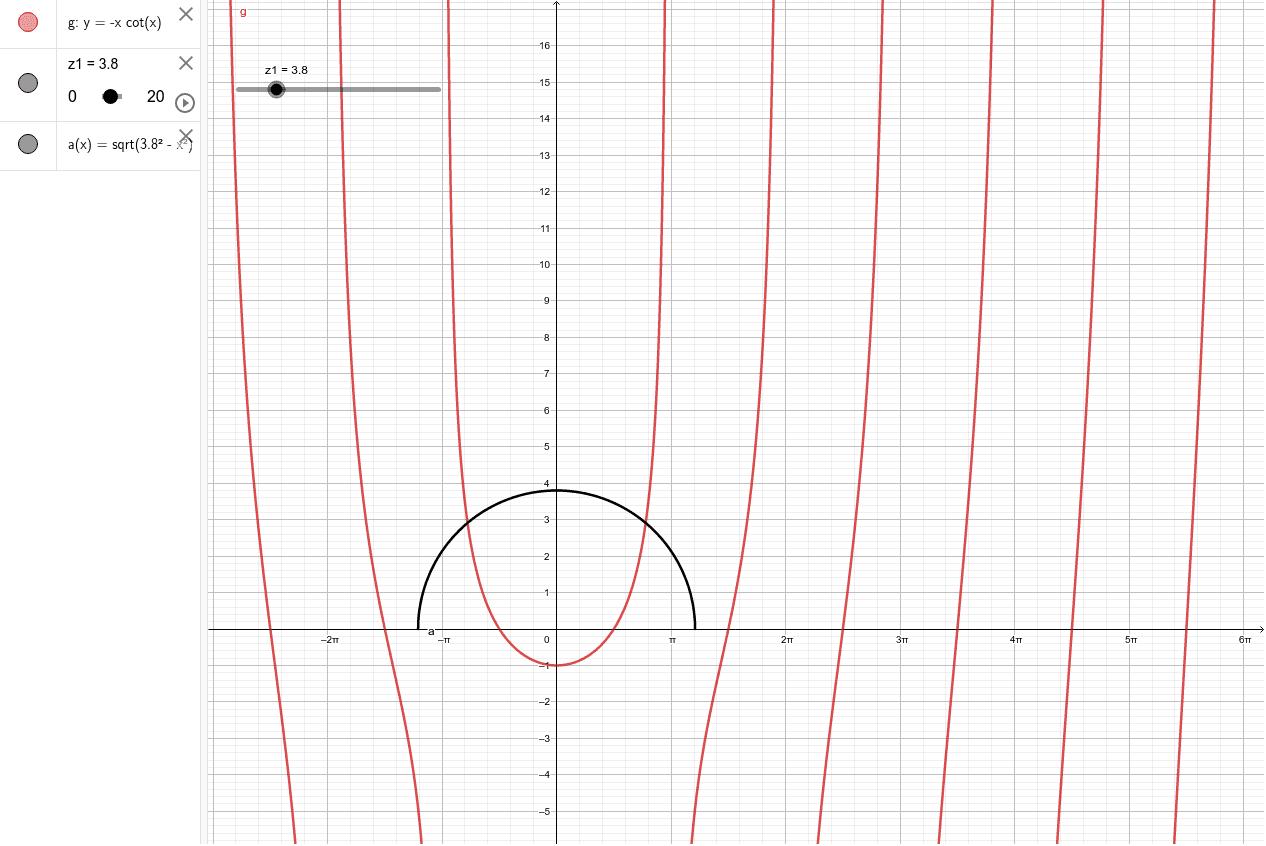 Tutorial 3 transcendental equation