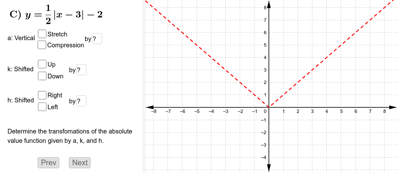 Graph the function. Press Enter to start activity