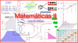 Matemáticas II,  2º bachillerato