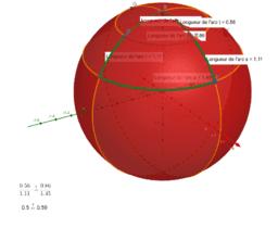 Thales on sphere