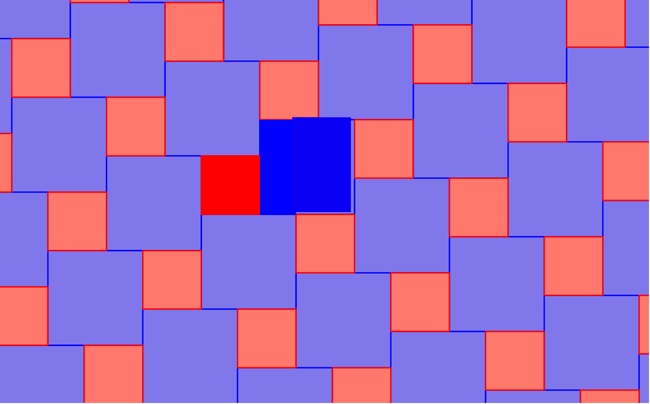 What it does to the pythagorean tiling. Press Enter to start activity