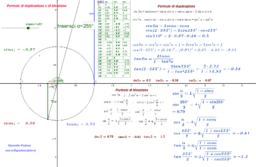 Formule di duplicazione e di bisezione