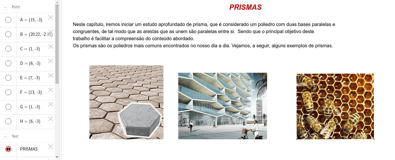 Conceito de Prisma