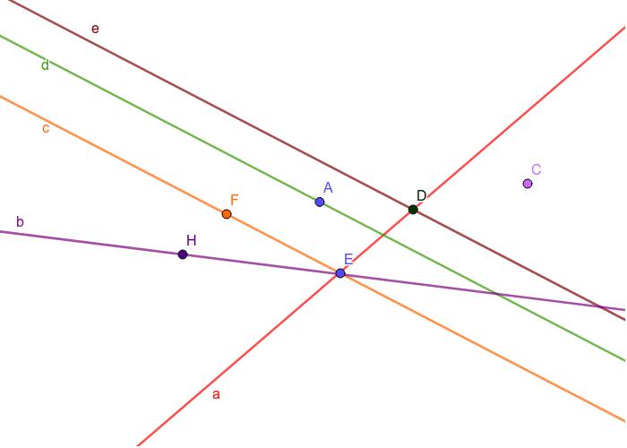 Napiši u svoju geometrijsku bilježnicu što više tvrdnji o ovoj slici. Pritisnite Enter za pokretanje.