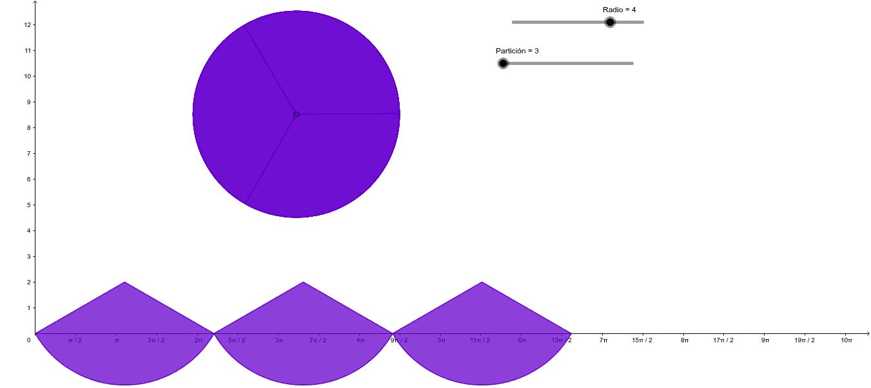 Área del Círculo Presiona Intro para comenzar la actividad