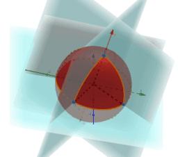 trianglesOnaSphere