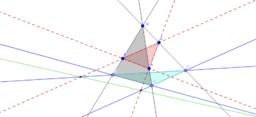 Desargeus' Theorem dukaz