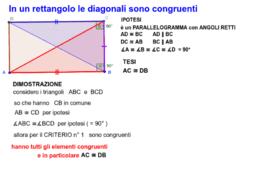 Proprietà del rettangolo