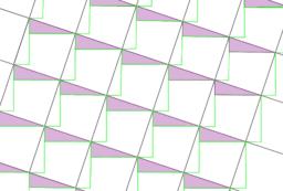 Pythagorean Theorem by Tessellation # 4