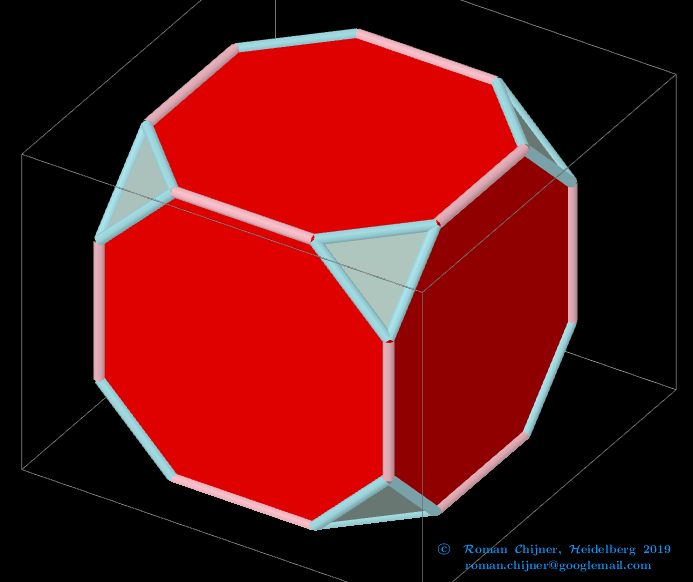 Truncated Cube.