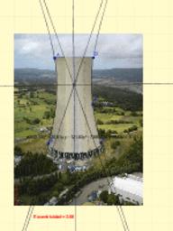 Torre de refrigeración de la central térmica de Meirama