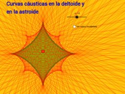 Curvas cáusticas en la deltoide y enla astroide