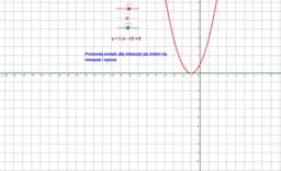 Parabola w Geogebrze