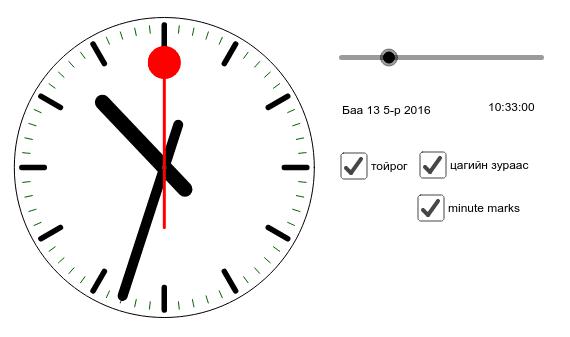 Уулзах цаг