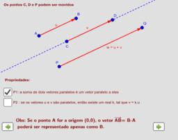 Resolvendo problemas de Geometria com vetores