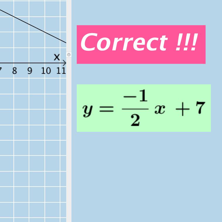 Writing the Equation of a Line (I-VA)