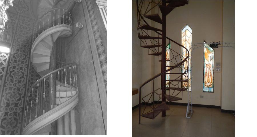Vlevo: Iglesia de la Compañía (UNESCO World Heritage Site), vpravo: Sacred Heart Jesus Parish Science City Munoz