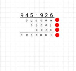 Schriftliches Multiplizieren Level 3