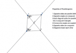 Properties of a Parallelogram(stephaniemartancik)