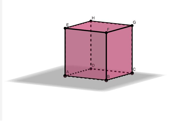 U geometrijsku bilježnicu napiši sve usporedne bridove ove kocke. Pritisnite Enter za pokretanje.