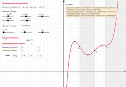 Wendepunkte und Krümmungsverhalten von Kurven