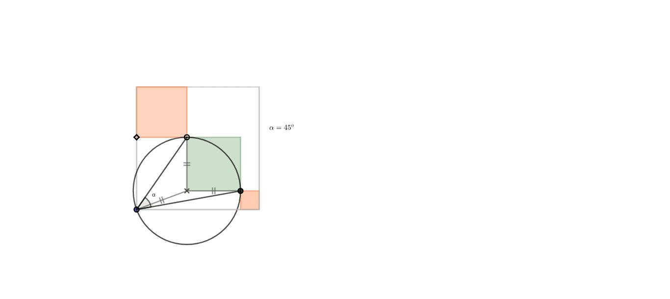 Angle del quadrat verd respecte un vèrtex Premeu Enter per iniciar l'activitat