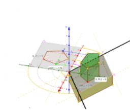 assonometria isometrica - pentagono e parallelepipedo
