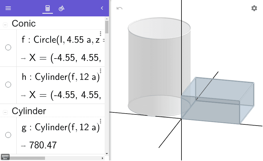 What Students Can Build in GeoGebra 3D (It's a LOT EASIER than it looks!)  Press Enter to start activity