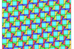 Pythagorean Theorem by Tessellation # 99 Tiling