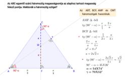 Háromszög - szögek
