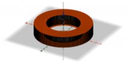 3D - TRACCIATURA CORONA CIRCOLARE