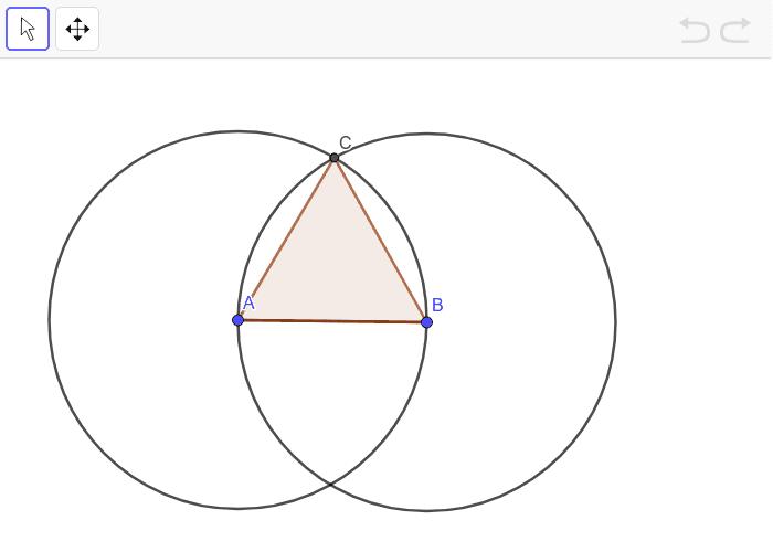 Likesidet trekant