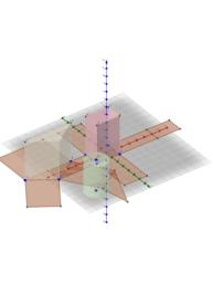 삼각사각원기둥