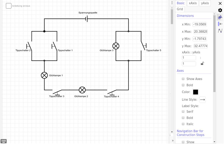 Online Schaltplan Zeichnen