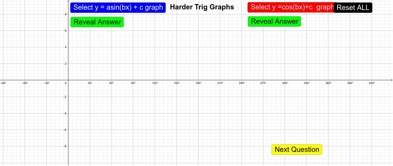 Finding Harder Trig Equation Press Enter to start activity