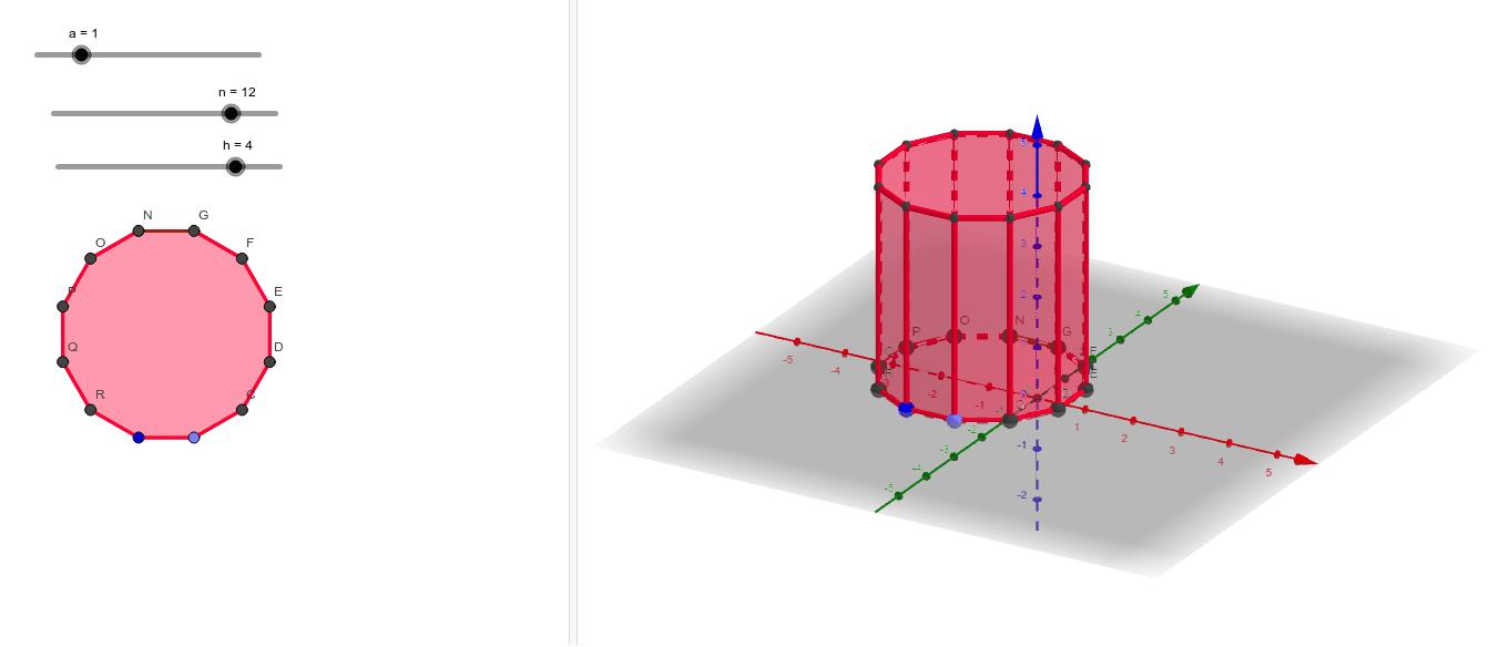 Prisma poligonal