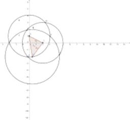 intersectie cercuri