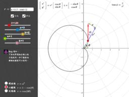 極式:切線方向