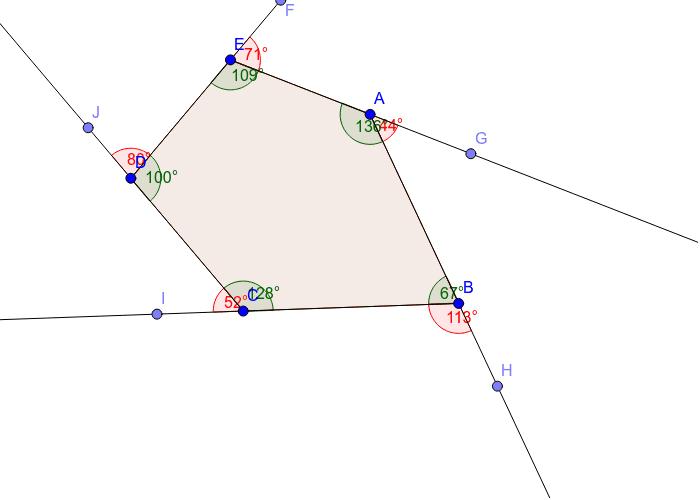 Pentagon - 5 sides