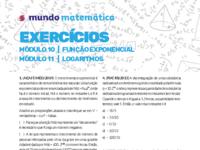 Função Exponencial e Logaritmos - Mundo Matemática - exercícios.pdf
