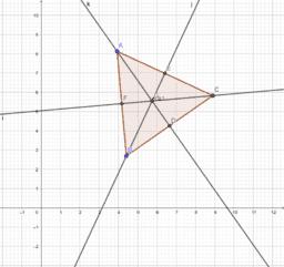 Baricentro triangolo equilatero.