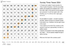 Sunday Times Teaser 2924