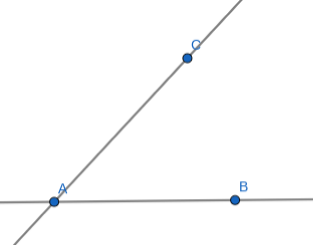 After step 2, Two Lines with 3 Points
