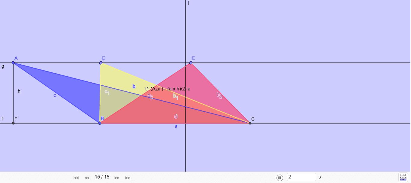 Barquinhos dos Triângulos Press Enter to start activity