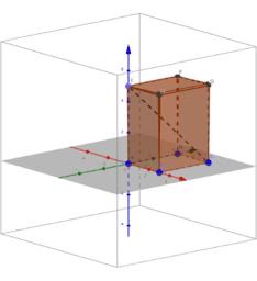 Aplicación Teorema de Pitágoras en un poliedro