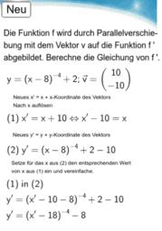 10I - Potenzfunktion - Parallelverschiebung