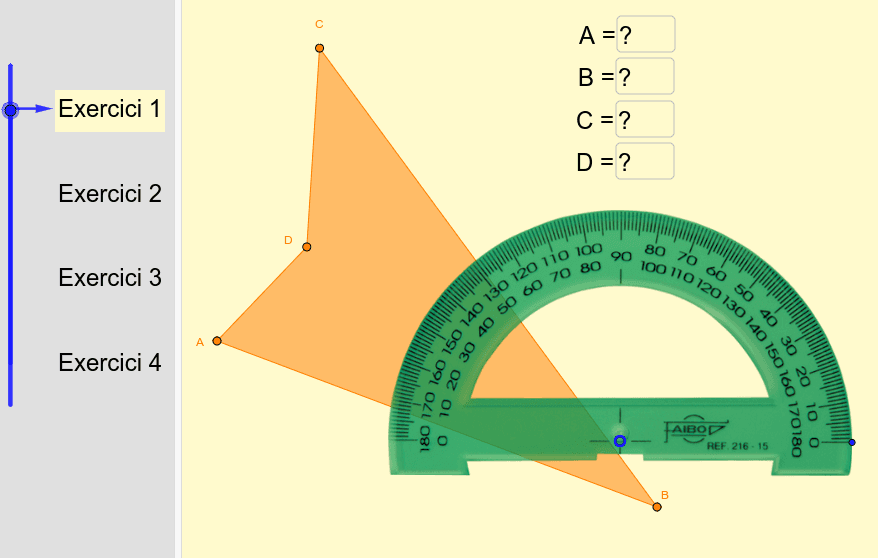 mesurant angles